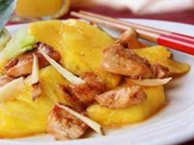 recette poulet bio sauce aigre douce ananas jardin bio jardin bio. Black Bedroom Furniture Sets. Home Design Ideas