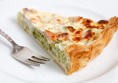 Quiche express aux légumes et tofu