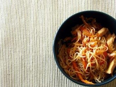 Wok de légumes tofu nature