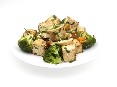 Curry de tofu aux légumes