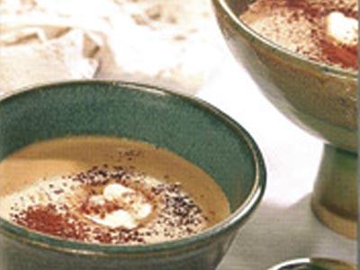 Sabayon au café et au yaourt