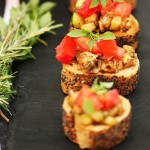 Antipasti d'aubergines et courgettes