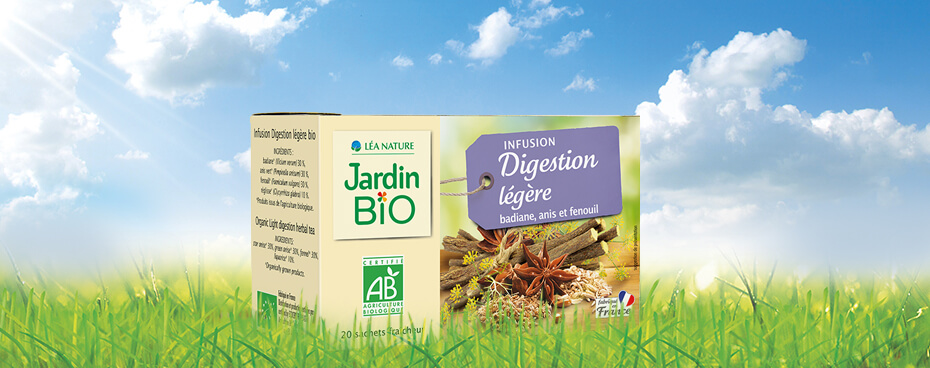 Infusion digestion légère Jardin BiO