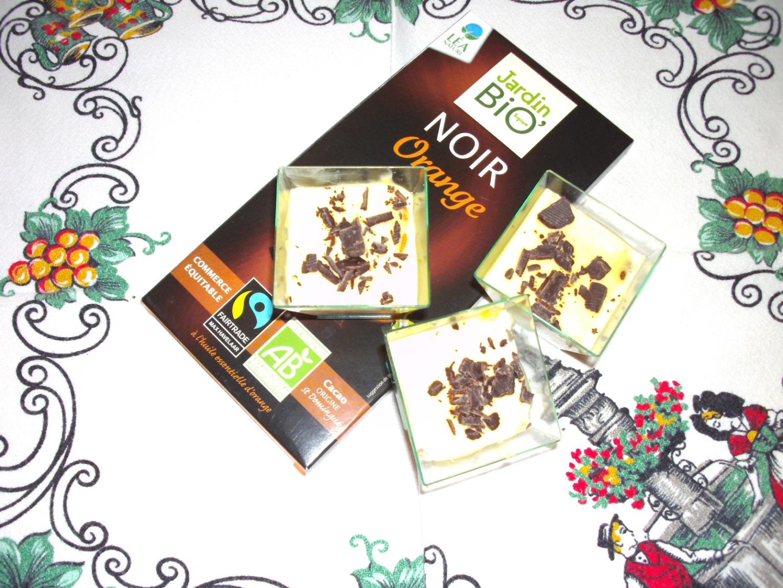 Tiramisu speculoos aux copeaux de chocolat