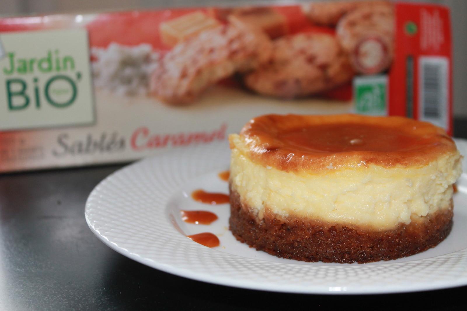 Cheesecake au caramel et beurre salé