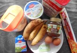 Tarte à la banane et pâte à tartiner Jardin BiO'