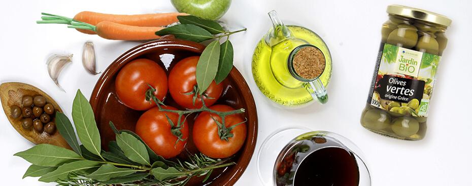 Olives vertes Jardin BiO