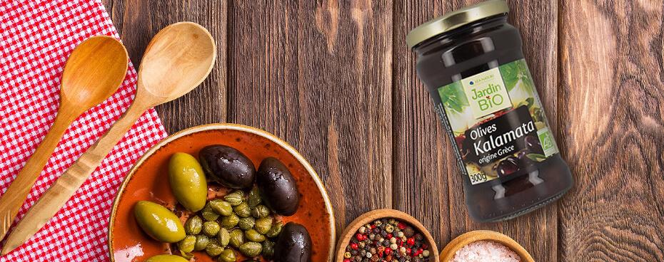 Olives noires Jardin BiO étic