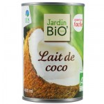 Lait de coco Jardin BiO'