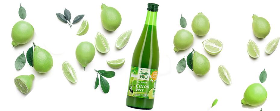 Jus de citron vert Jardin BiO
