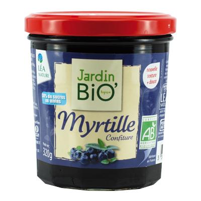 Confiture de myrtille jardin bio for Jardin bio 2015