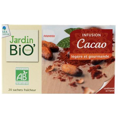 Infusion cacao jardin bio for Jardin bio 2015