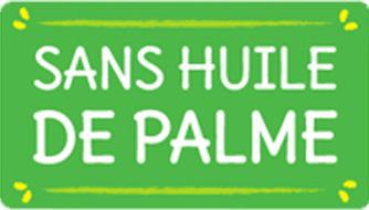 Sans huile de palme