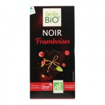 Chocolat noir framboises Jardin BiO'