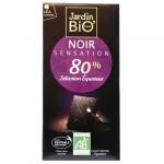 Chocolat noir sensation Jardin BiO'