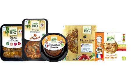 Les produits frais Jardin BiO' : pratiques et déjà prêts