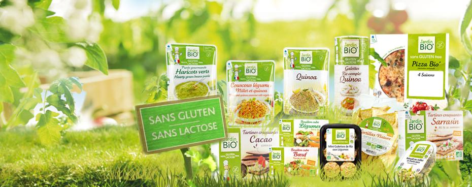 Bio sans gluten sans lactose jardin bio for Jardin bio 2015