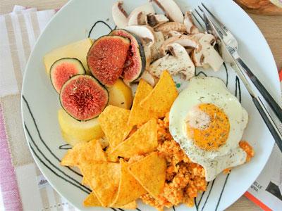 Assiette vitaminée