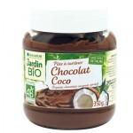 Pâte à tartiner chocolat coco Jardin BiO