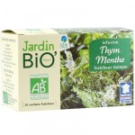 Infusion thym menthe Jardin BiO