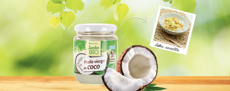 Huile vierge coco Jardin BiO