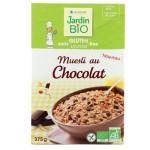 Muesli chocolat sans gluten sans lactose Jardin BiO