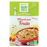 Muesli aux fruits Jardin BiO étic sans gluten