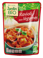 Ravioli aux légumes Jardin BiO