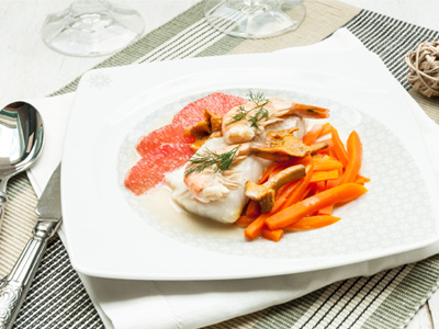 [:fr]Dos de cabillaud rôti et légumes de saison[:]