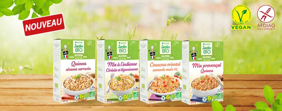Sans gluten Jardin BiO étic