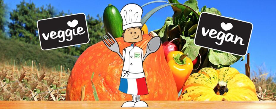 Engagement veggie vegan Jardin BiO étic