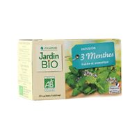 Infusion 3 menthes Jardin BiO