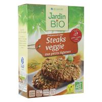 Steak veggie legumes Jardin BiO étic