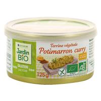 Terrine potimarron curry sans gluten Jardin BiO étic