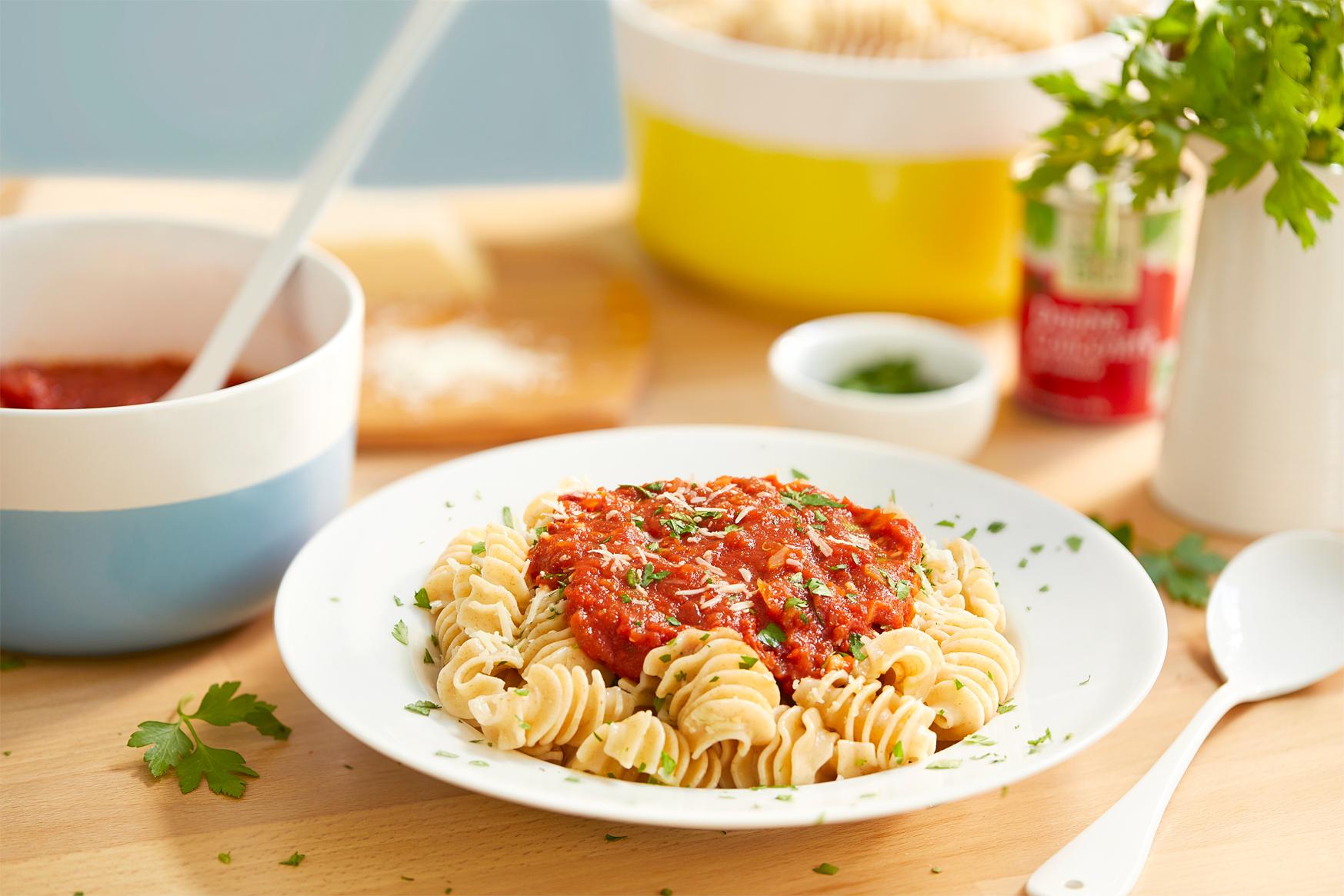 Sauce tomate aux épices maison