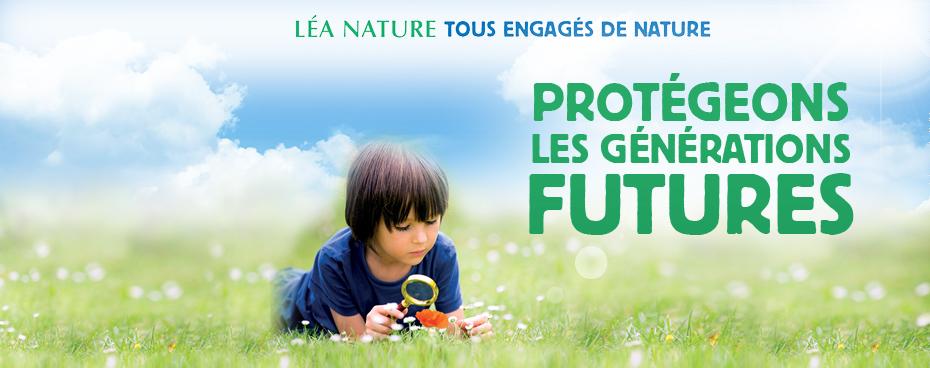 Léa Nature et ses marques s'engagent avec l'opération Tous engagés de nature 2018