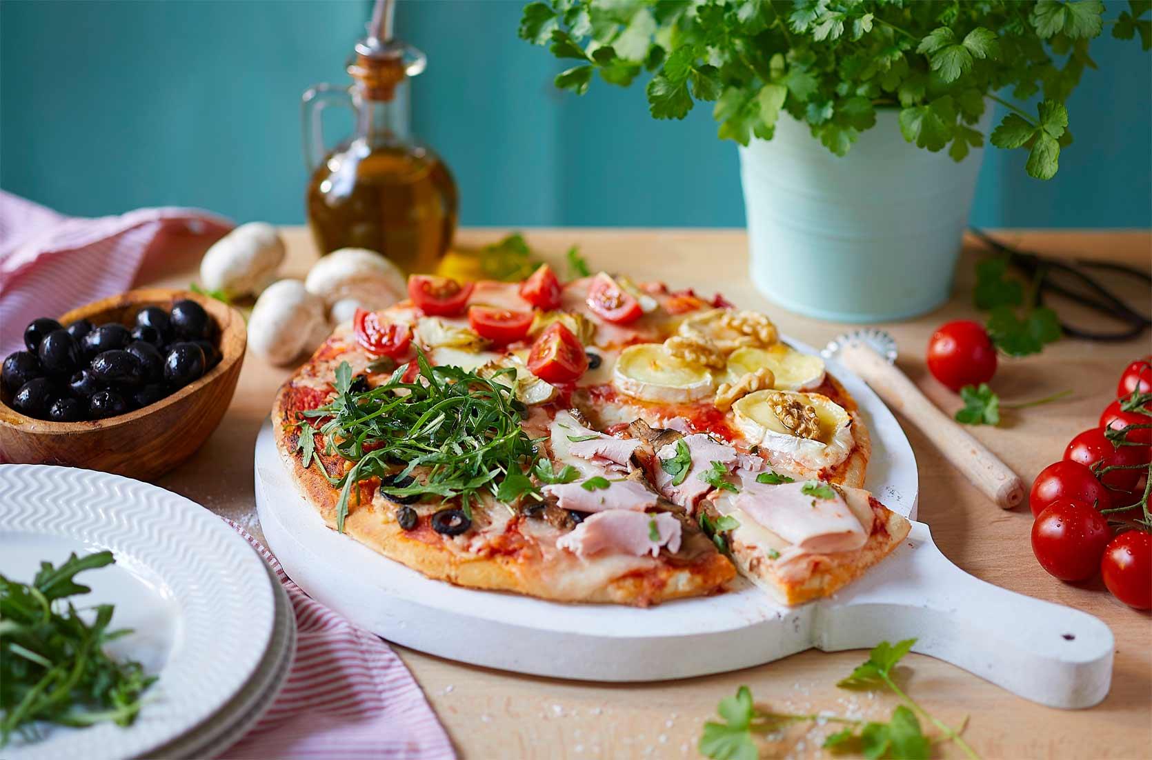 [:fr]Pizza 4 saveurs [:]