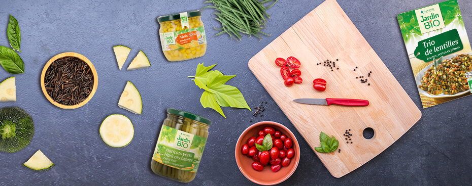 Mix de légumes Jardin BiO