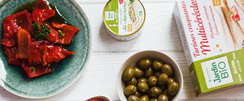 Top 10 des aliments healthy pour l'apéro