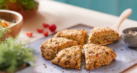 découvrez la recette de scones salés et végétariens Jardin BiO