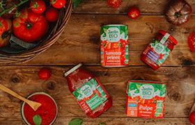 Sauces tomates Jardin BiO étic