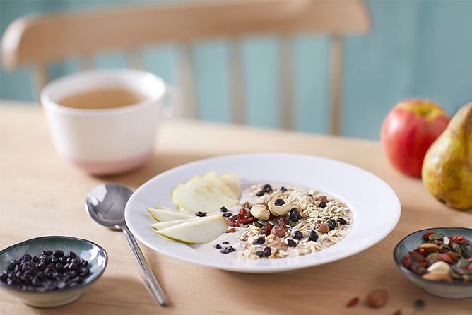 Recette de smoothie bowl – muesli amande noisette et noix de coco