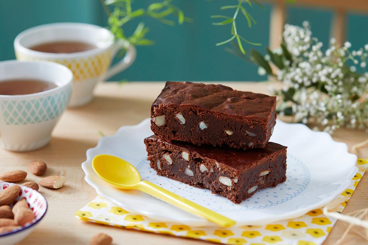 [:fr]Brownie sans beurre aux amandes Jardin BiO[:]