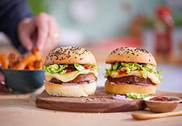 Recette de burger bio