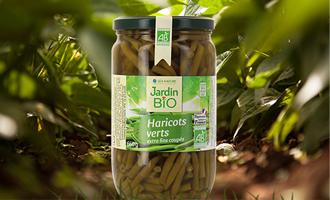 produit haricots verts jardin bio