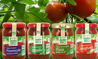 produits Jardin BiO étic sauce tomate d'italie