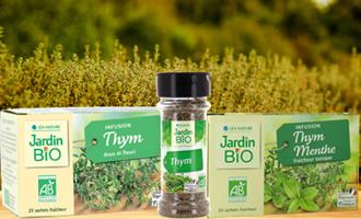 produits avec du thym jardin bio