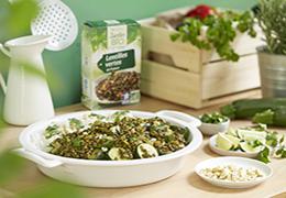 Recette bio et veggie : curry de lentilles et courgettes