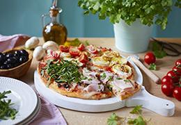 Recette pizza bio
