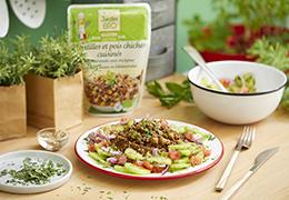 Recette de salade bio